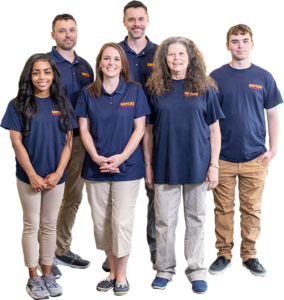 Smylies commercial cleaning team